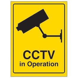 CCTV Camera In Operation