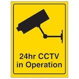 24hr CCTV Camera In Operation