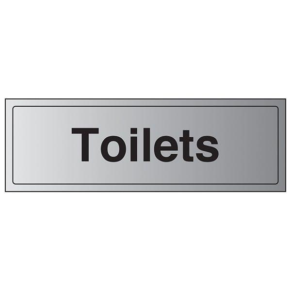 Toilets - Aluminium Effect