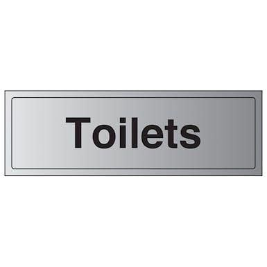 Aluminium Effect - Toilets