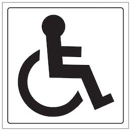 Disabled Toilet Symbol