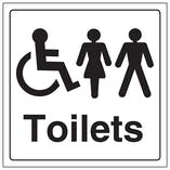 Unisex and Disabled Toilet
