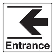 Entrance Arrow Left