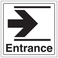 Entrance Arrow Right