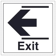 Exit Arrow Left