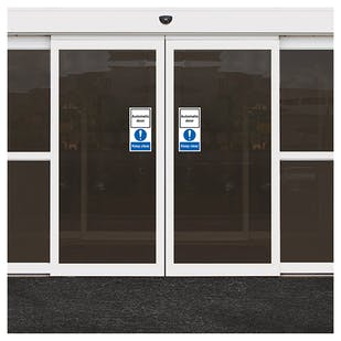 Automatic Door - Keep Clear