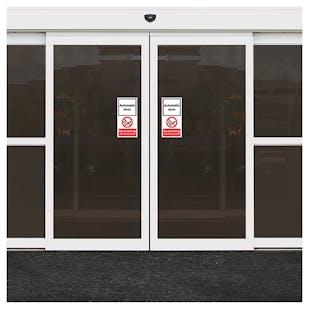 Automatic Door - No Smoking Inc Vapes
