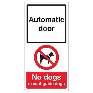 Automatic Door - No Dogs