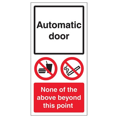 Automatic Door - None Of The Above