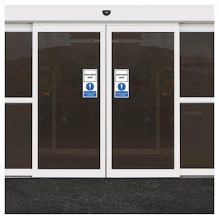 Automatic Door - Visitors To Reception