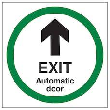 Exit - Automatic Door