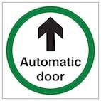 Automatic Door Arrow Ahead