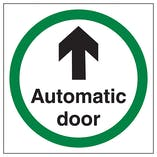 Automatic Door Arrow Ahead