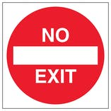 No Exit - Automatic Door