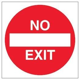 No Exit - Automatic Door