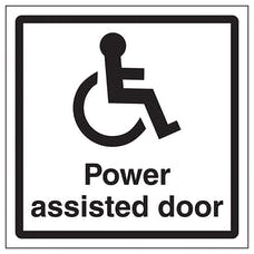Disabled Power Assisted Door