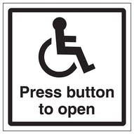 Disabled Press Button To Open