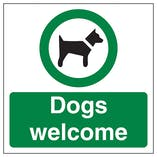 Dogs Welcome Automatic Door