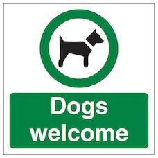 Dogs Welcome Automatic Door
