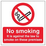 No Smoking On Premises