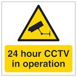 24 hour CCTV In Operation Automatic Door