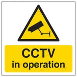 CCTV In Operation Automatic Door