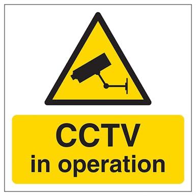 CCTV In Operation Automatic Door