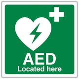 AED Located Here
