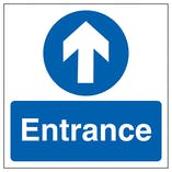 Entrance Arrow - Square