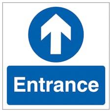 Entrance Arrow - Square