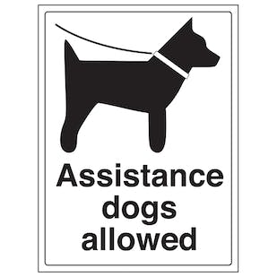 Assistance Dogs Allowed
