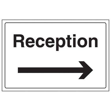 Reception With Arrow Right