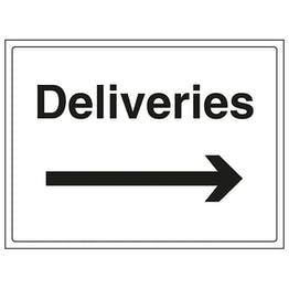 Deliveries With Arrow Right