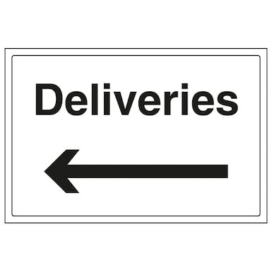 Deliveries With Arrow Left