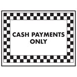 Cash Payments Only
