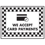 We Accept Card Payments / Card Symbol