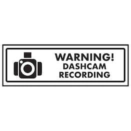 Warning! Dashcam Recording