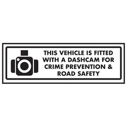 This Vehicle Is Fitted With A Dashcam For Crime…