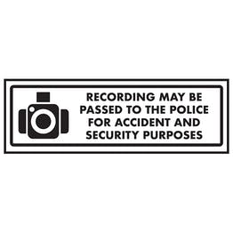Recording May Be Passed To the Police For Accide…