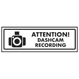 Attention! Dashcam Recording