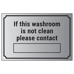 If This Washroom Is Not Clean Please Contact […]