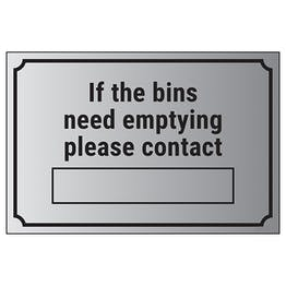 If The Bins Need Emptying Please Contact […]