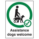 Assistance Dog Signs