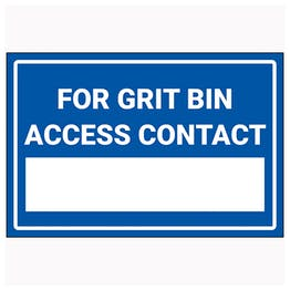 For Grit Bin Access Contact […]