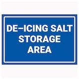 De-Icing Salt Storage Area