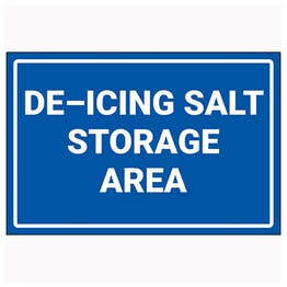 De-Icing Salt Storage Area