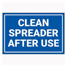 Clean Spreader After Use