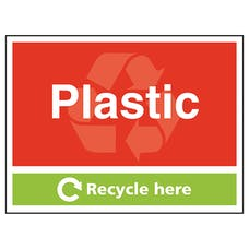 Plastic Recycle Here