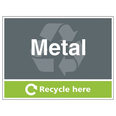 Metal Recycle Here