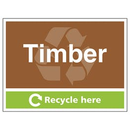 Timber Recycle Here